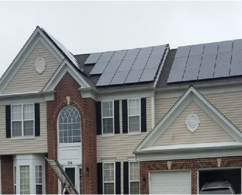 Residential Solar PV Project in Elkridge, MD
