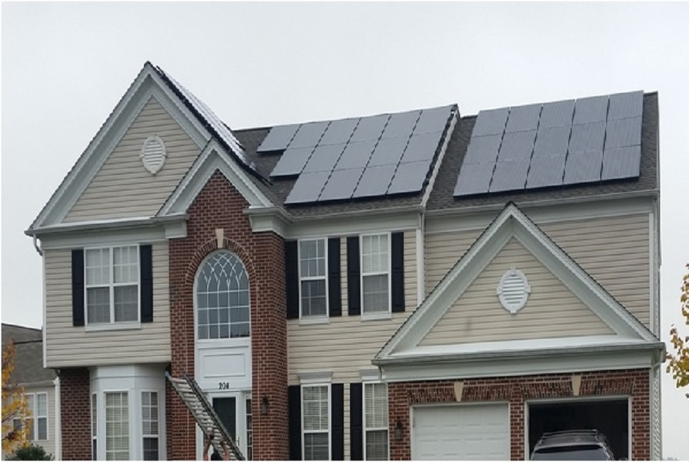 Residential Solar PV Project in Elkridge, MD