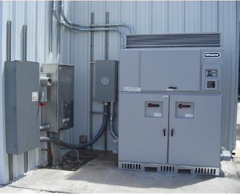 100 kW Commercial inverter that was installed in New Mexico.